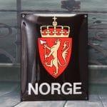 Enamel-sign-NORGE18x23-cm